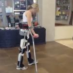 Reciprocating gait orthosis, RGO