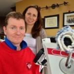 Captain Trevor Greene partners with SFU to walk again