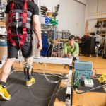 Ankle-foot orthosis powered by artificial pneumatic muscles