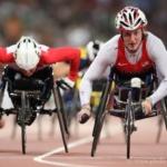 BMW carbon fiber racing wheelchair for Team USA