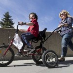 Adapted bike program gets disabled kids on the move