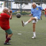 Retired professional footballers at higher risk of knee osteoarthritis