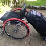 Easy to use wheelchair luggage by Phoenix Instinct