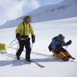 Swedish adventurer reaches south pole in sit ski