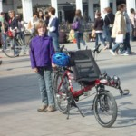 My cool, adaptive bike — from Germany, of course