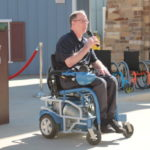 Air powered, waterproof wheelchair makes splash park ultra-accessible