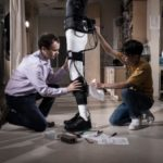 Post-stroke patients reach terra firma with Wyss Institute exosuit