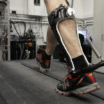 Passive-elastic ankle exoskeleton improves walking efficiency