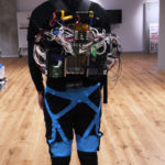 Skin-tight exoskeleton is worn like Spanx and lets you turn left