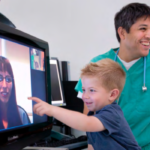 Telemedicine for children with disabilities in remote communities