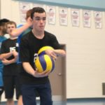 You have to keep trying: Teen with cerebral palsy on school volleyball team