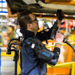 Ford pilots new exoskeleton to reduce worker fatigue, injury