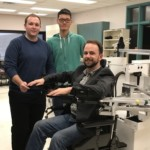 Markin undergrads get first-hand experience using cutting-edge robotic technology