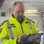 Paramedics road-testing portable health records system