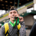 This marathoner with cerebral palsy just got the Nike hookup