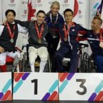 'The intensity is 100 per cent': Sask. wheelchair fencer has Paralympic hopes after World Cup win