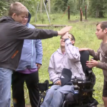 Camping with cerebral palsy is fun and challenging