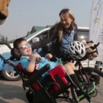Fortney: Local massage therapist cycles cross-country to fulfil a child's wish