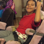 Disabled First Nation woman needs all-terrain stroller to get around on reserve