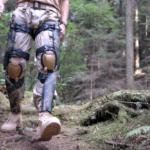 Knee brace harvests power from walking
