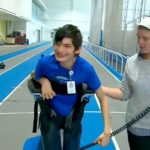 Robotic walker may help young people be more social and physically fit