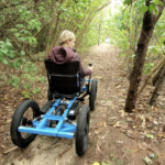 The rig lets disabled people go offroading